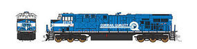 Fox ES44AC Loco Conrail Quality N Scale Model Train Diesel Locomotive #70005