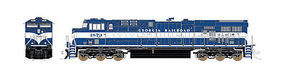 Fox ES44AC Loco Georgia Railroad N Scale Model Train Diesel Locomotive #70008