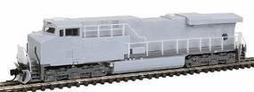 Fox GE ES44AC Undecorated N Scale Model Train Diesel Locomotive #70100