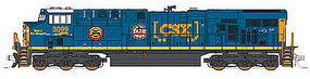 Fox GE ES44AC GEVO - Standard DC - CSX #3099 N Scale Model Train Diesel Locomotive #70287