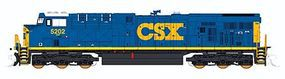 Fox GE ES44DC w/Low Numberboards CSX #5202 N Scale Model Train Diesel Locomotive #70381