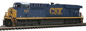 Fox GE ES44DC w/Low Numberboards CSX #5375 N Scale Model Train Diesel Locomotive #70382