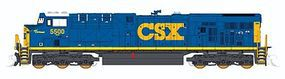 Fox GE ES44DC w/Low Numberboards, CSX #5500 N Scale Model Train Diesel Locomotive #70384