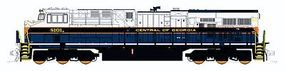 Fox GE ES44AC - Standard DC - Norfolk Southern #8101 N Scale Model Train Diesel Locomotive #70454
