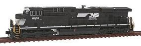 Fox GE ES44AC - Standard DC - Norfolk Southern #8106 N Scale Model Train Diesel Locomotive #70464