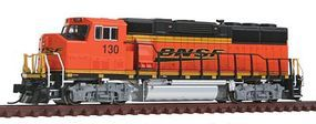 Fox EMD GP60M DC BNSF Railway #130 N Scale Model Train Diesel Locomotive #70509