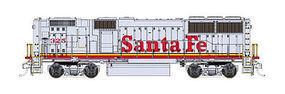 Fox EMD GP60B - Standard DC - Santa Fe #333 N Scale Model Train Diesel Locomotive #70609