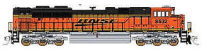 Fox EMD SD70ACe BNSF Railway #8741 N Scale Model Train Diesel Locomotive #71106