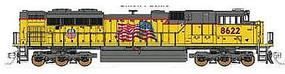 Fox EMD SD70ACe DC Union Pacific #8859 N Scale Model Train Diesel Locomotive #71112