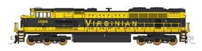 Fox EMD SD70ACe w/NS Details Norfolk Southern #1069 N Scale Model Train Diesel Locomotive #71155