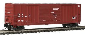 Fox FMC 5283 50 Double-Door Boxcar Canadian National N Scale Model Train Freight Car #80866