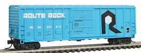 Fox P-S 5344 Single Door Boxcar Milwaukee Road #50818 N Scale Model Train Freight Car #81064