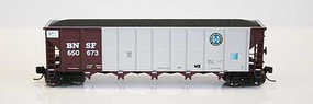 RD-4 Hopper BNSF 12 Pack #6 (#61-72) N Scale Model Train Freight Car #83036