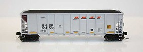 RD-4 Hopper BNSF 12 Pack #5 (#61-72) N Scale Model Train Freight Car #83106