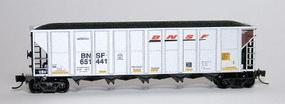 Fox Trinity RD-4 Hopper Single Car BNSF Railway N Scale Model Train Freight Car #8310