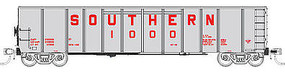 Fox Southern Silverside Coal Gondola Southern Railway Set 4 N Scale Model Train Freight Car #83406