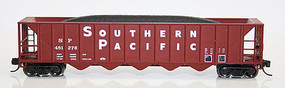 Fox Ortner 5-Bay Rapid Discharge Hopper SP 481252 N Scale Model Train Freight Car #83607-1