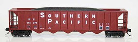 Fox Ortner 5-Bay Rapid Discharge Hopper SP 481252 N Scale Model Train Freight Car #836071