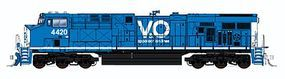 Fox GE ES44AC Standard DC Virginian & Ohio #4420 N Scale Model Train Diesel Locomotive #89305