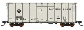 Fox B&O Class M-53 Wagontop Boxcar Baltimore & Ohio #380 N Scale Model Train Freight Car #90325