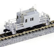 Fox Transfer Caboose Undecorated N Scale Model Train Freight Car #91150