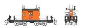 Fox Transfer Caboose Milwaukee Road #1 N Scale Model Train Freight Car #91155