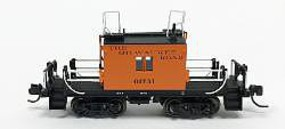 Fox N TraFer Caboose Milw 01731