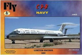 Fly-Models C9B USN Airliner (Ltd Edition) Plastic Model Airplane Kit 1/144 Scale #14403