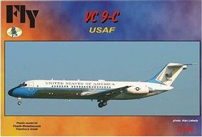 Fly-Models VC9C United States of America Airliner Plastic Model Airplane Kit 1/144 Scale #14405