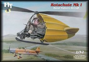 Fly-Models Rotachute Mk I One-Man Rotor Kite Aircraft Plastic Model Airplane Kit 1/32 Scale #32004