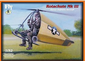 Fly-Models Rotachute Mk III One-Man Rotor Kite Aircraft Plastic Model Airplane Kit 1/32 Scale #32005