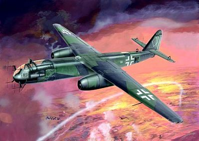 Fly Models Arado Ar234B2/B2N German Bomber/Night Fighter -- Plastic Model Airplane Kit -- 1/32 Scale -- #32008