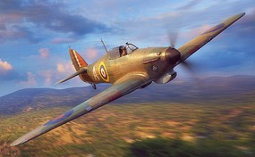 Fly-Models 1/32 Hawker Hurricane Mk I Trop British Fighter