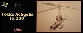 Fly-Models Focke Achgelis FA330 Bachstelze U-Boat Gyrocopter Plastic Model Airplane Kit 1/48 #48003
