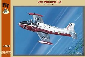 Fly-Models T4 Jet Provost British Basic Training Aircraft Plastic Model Airplane Kit 1/48 Scale #48019