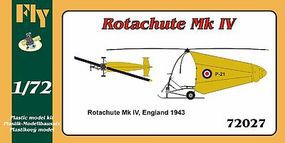Fly-Models Rotachute Mk IV One-Man Rotor Kite Aircraft Plastic Model Airplane Kit 1/72 Scale #72027