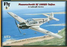 Fly-Models Messerschmitt Bf108B/D Taifun Fighter Plastic Model Airplane Kit 1/72 Scale #72028
