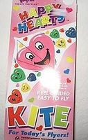Gayla 42x22 Happy Hearts Delta Wing Kite Single-Line Kite #116