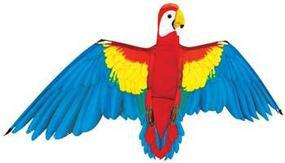 Gayla Macaw Parrot 3D 60 Single-Line Kite #1323