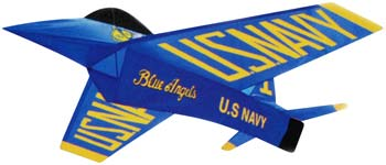 Gayla Industries Blue Angels US Navy 3D 46 -- Single-Line Kite -- #1325