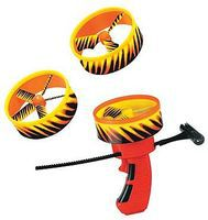 Gayla Air Hawk Super Cyclone Turbo Disc Flying Toy #1337