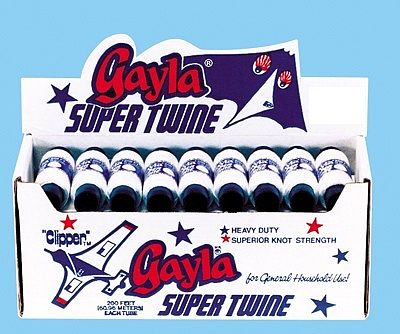 Gayla Industries 200' White Super Twine (36pc) -- Kite Accessory -- #200
