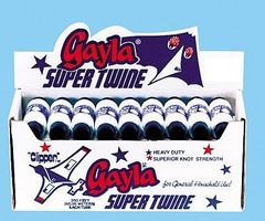 Gayla 200' White Super Twine (36pc) Kite Accessory #200