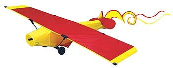 Gayla Industries 24''x6'' Spirit of St. Louis Airplane 3-D Nylon Kite -- Single-Line Kite -- #639