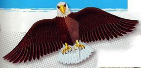 Gayla 55x24 American Bald Eagle Wing Flapper Kite Single-Line Kite #836
