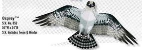 Gayla 55x24 Osprey Bird Wing Flapper Kite Single-Line Kite #852