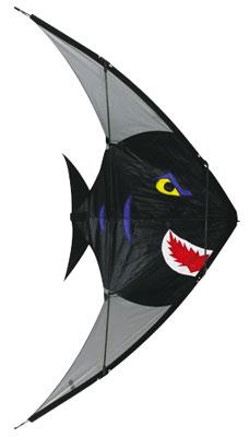48x26 Piranha Fish Stuntmaster Nylon Kite Multi-Line Kite #909