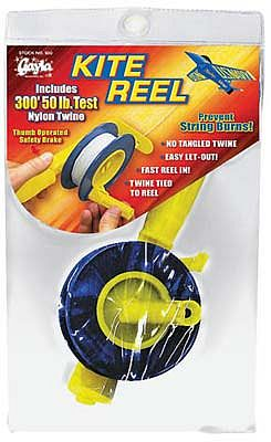 Gayla Kite Reel Winder with 300 Nylon Twine Kite Accessory #930