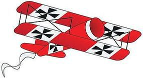 Gayla 36x24 Red Baron 3-D Nylon Kite Single-Line Kite #967