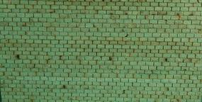 GCLaser Laser-Cut Roof Shingles (3-Tab) 11.5 Long (Green) HO-Scale #11133